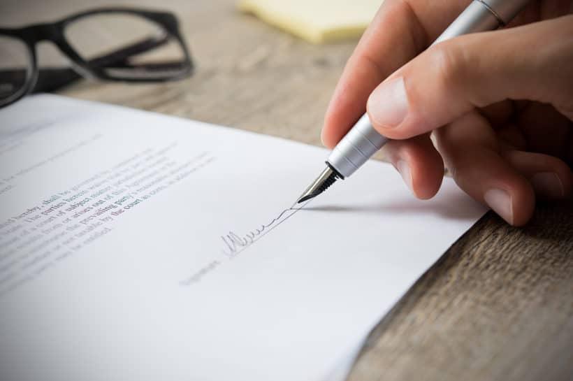 Online-Scheidung - Vollmacht zurück senden